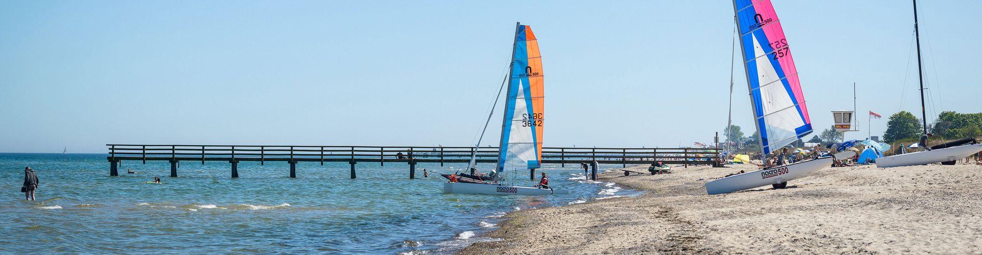 Wassersport im Ostseebad Dahme