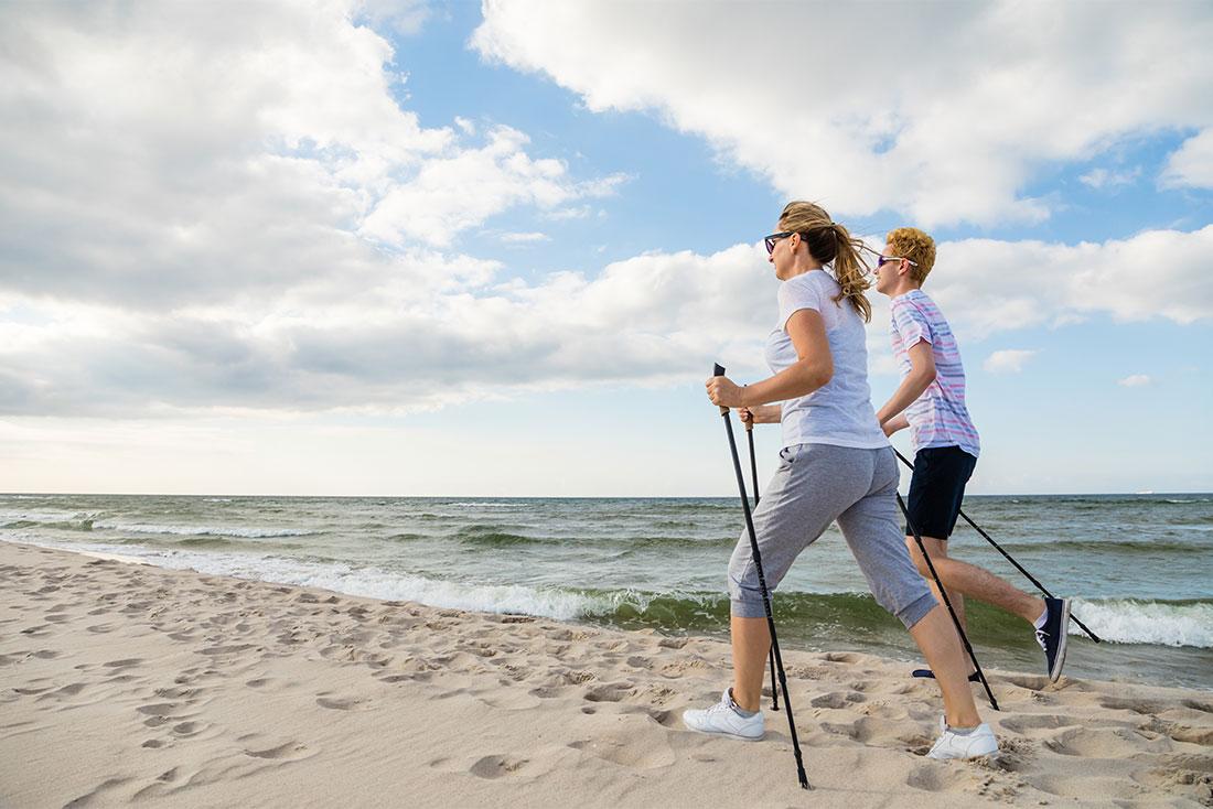 Nordic Walking in Dahme